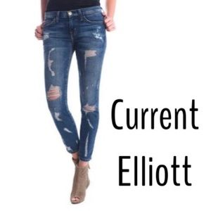 [Current/Elliott] The Stiletto skinny jeans